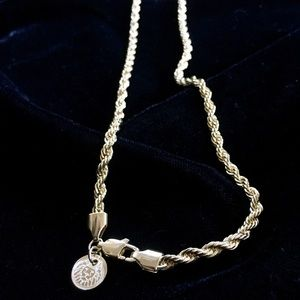 Other - EXCLUSIVE 18K GOLD ROPE CHAIN MADE IN ITALY